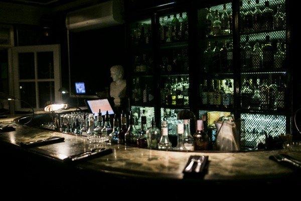 Alcoholic bar range