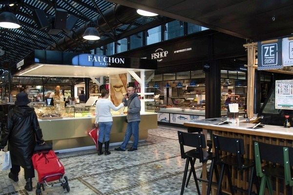 French patisserie at Sarona Market